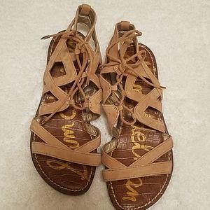 Gemma lace-up sandals